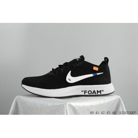 b4f5a61ee94e Trend New IP Super Tide Brand Crossover OFF-WHITE X NIKE FLYKNIT Racer  Lunar Epic