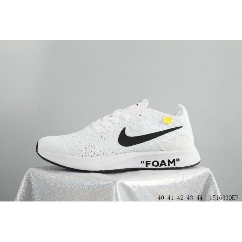 8ad3d3dc9208 ... Trend New IP Super Tide Brand Crossover OFF-WHITE X NIKE FLYKNIT Racer  Lunar Epic