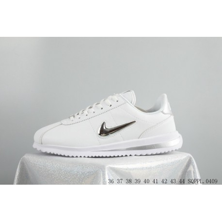 finest selection b6753 71dbf Nike Cortez Basic Jewel Qs Tz Cortez Trolley Trainers Shoes Vintage  Lightweight Classic Leisure Shoe Leather