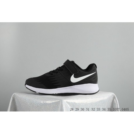 39e309134a Big Kids Shoes NIKE Star Runner Kids Sportshoes Young Kids Velcro Shoes  IOTT0405