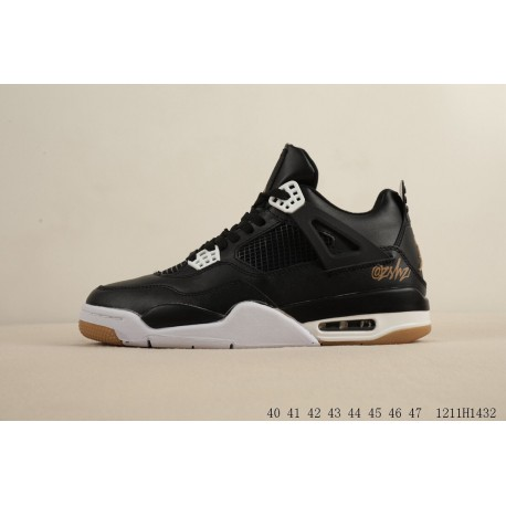 f017eb6e2ec Nike air jordan 4 retro jordan 4th generation air actual combat sports  basketball-shoes 1211h1432